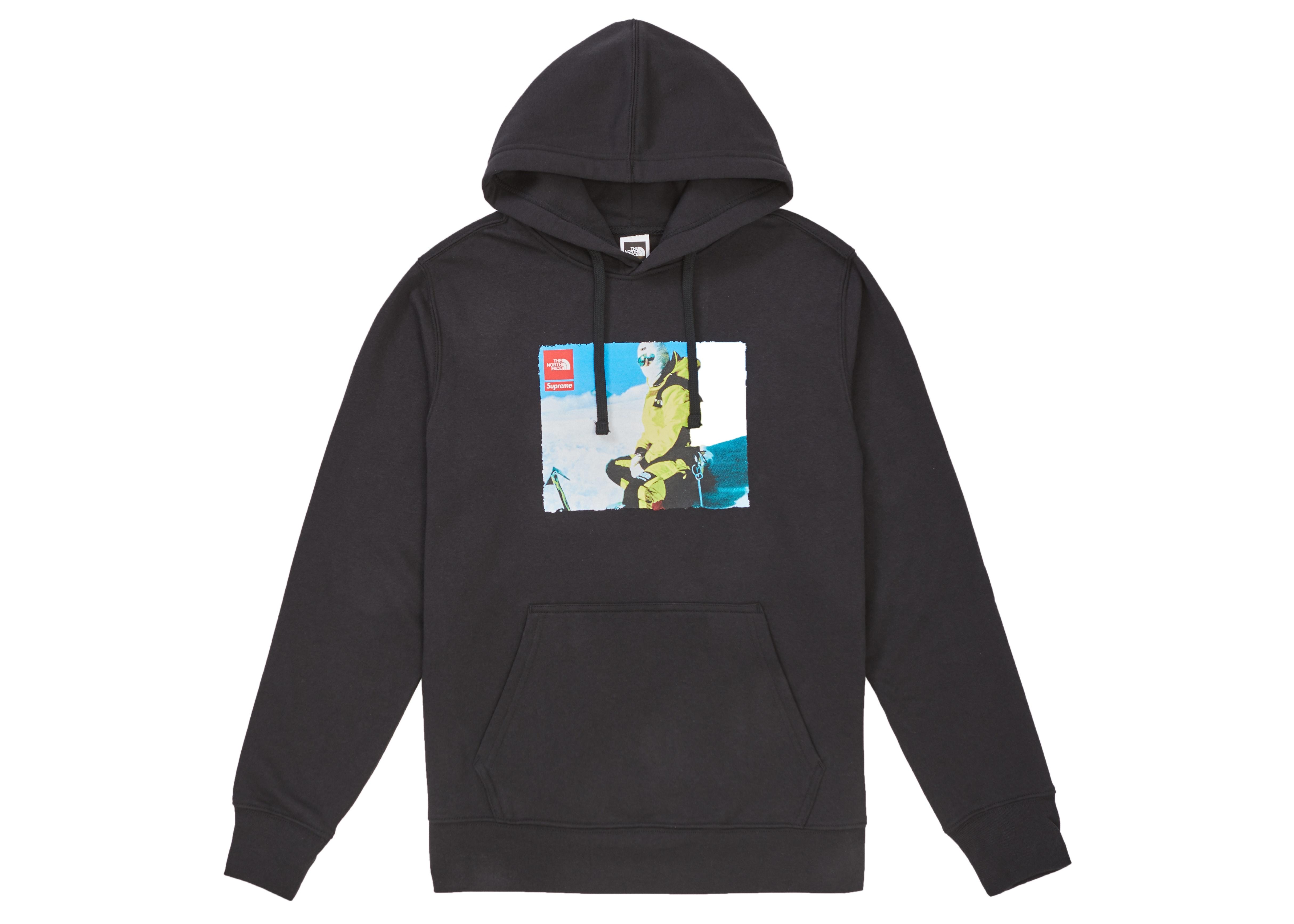 Supreme The North Face Photo Hooded Sweatshirt Black