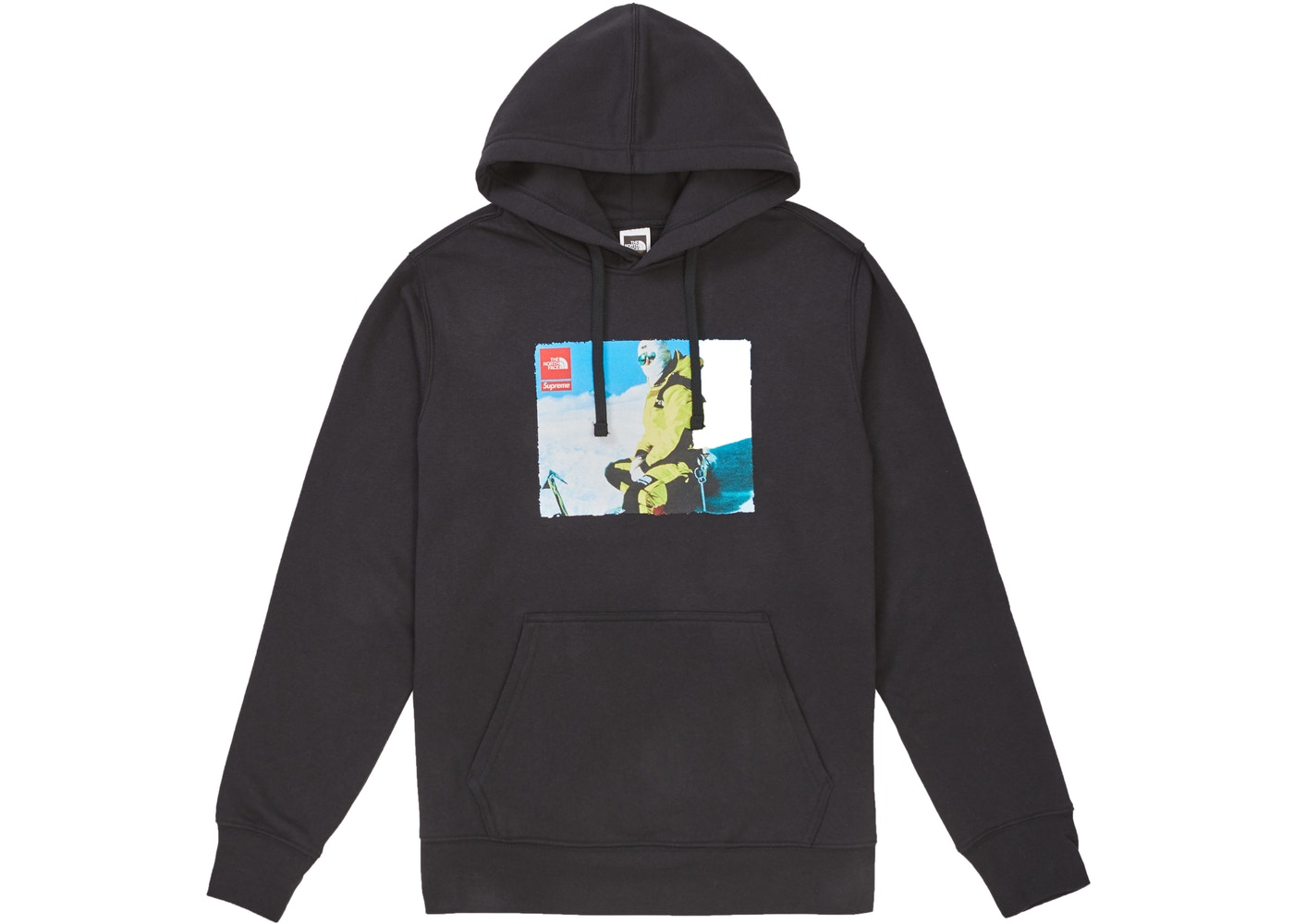 368d5100045 Supreme The North Face Photo Hooded Sweatshirt Black - FW18