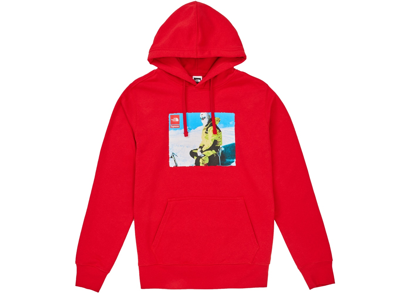 079a3699d Supreme The North Face Photo Hooded Sweatshirt Red