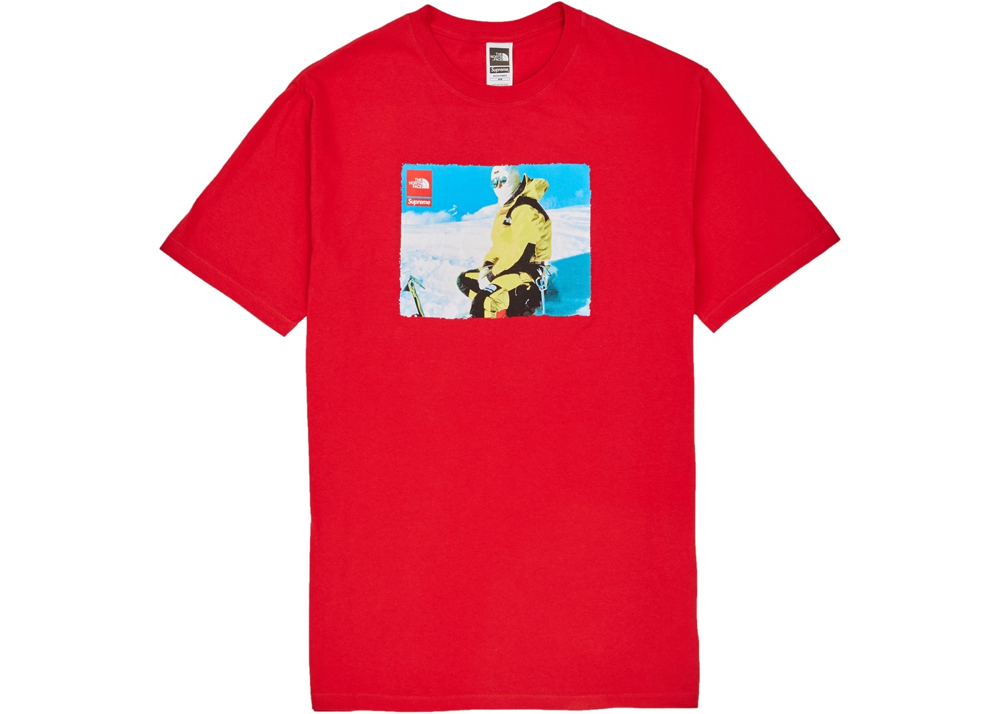f3f209966 Supreme The North Face Photo Tee Red