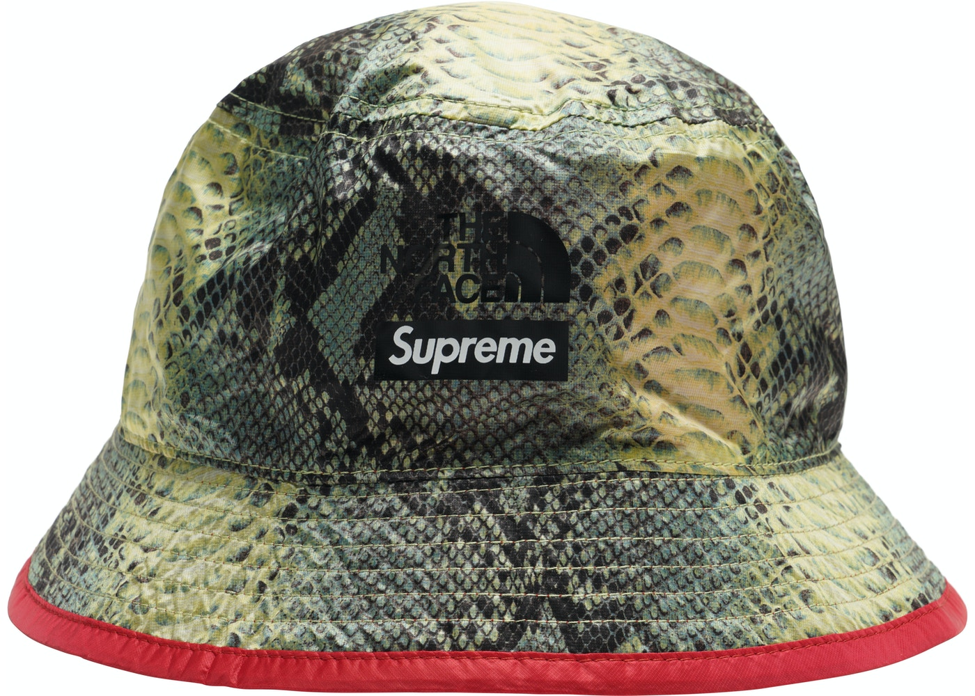 Supreme The North Face Snakeskin Packable Reversible Crusher Green ... f478db00c06