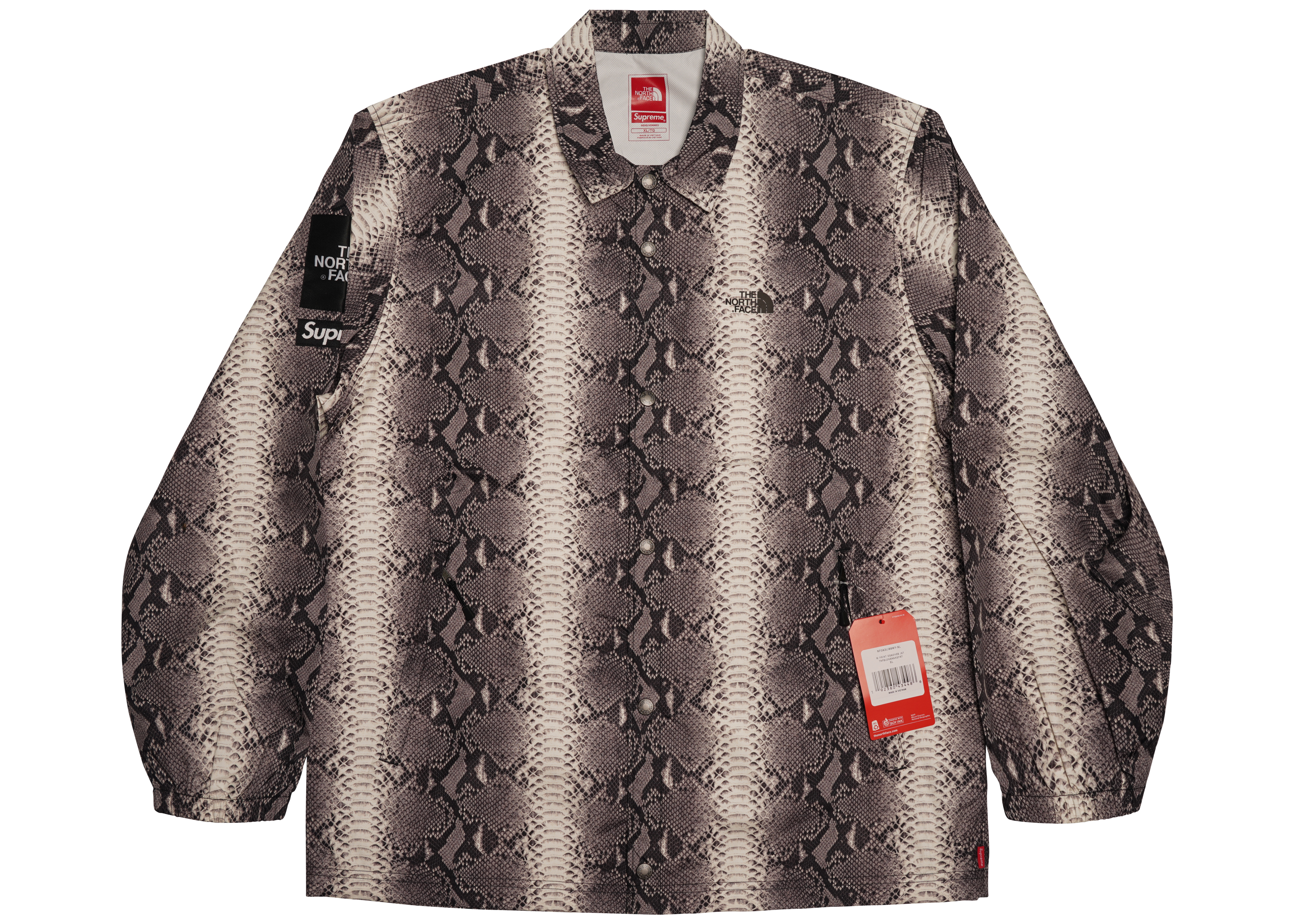 348f8fd4a5 ... coupon code for supreme the north face snakeskin taped seam coaches  jacket black 99ee6 d35ab ...