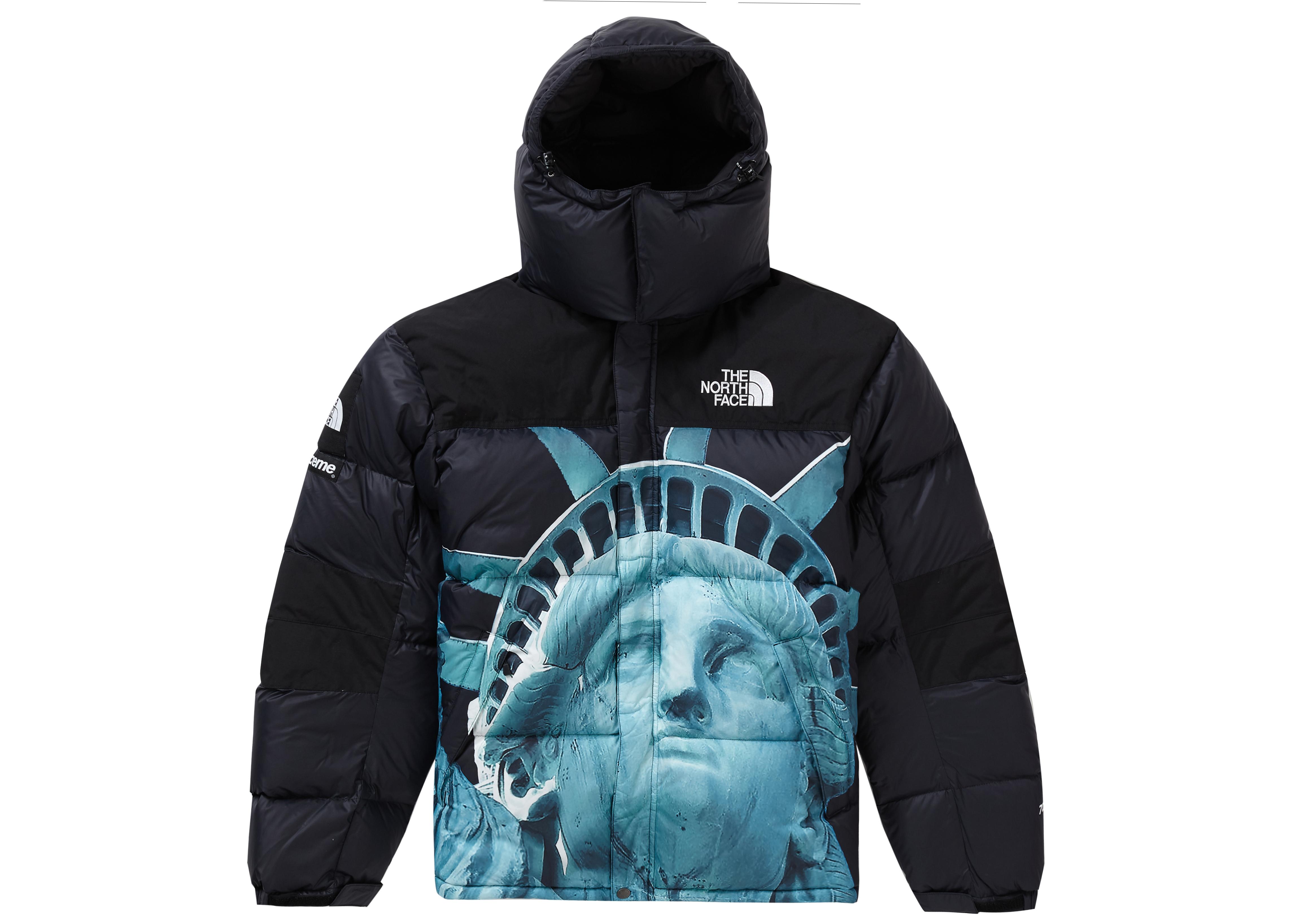 Supreme The North Face Statue of Liberty Baltoro Jacket Black