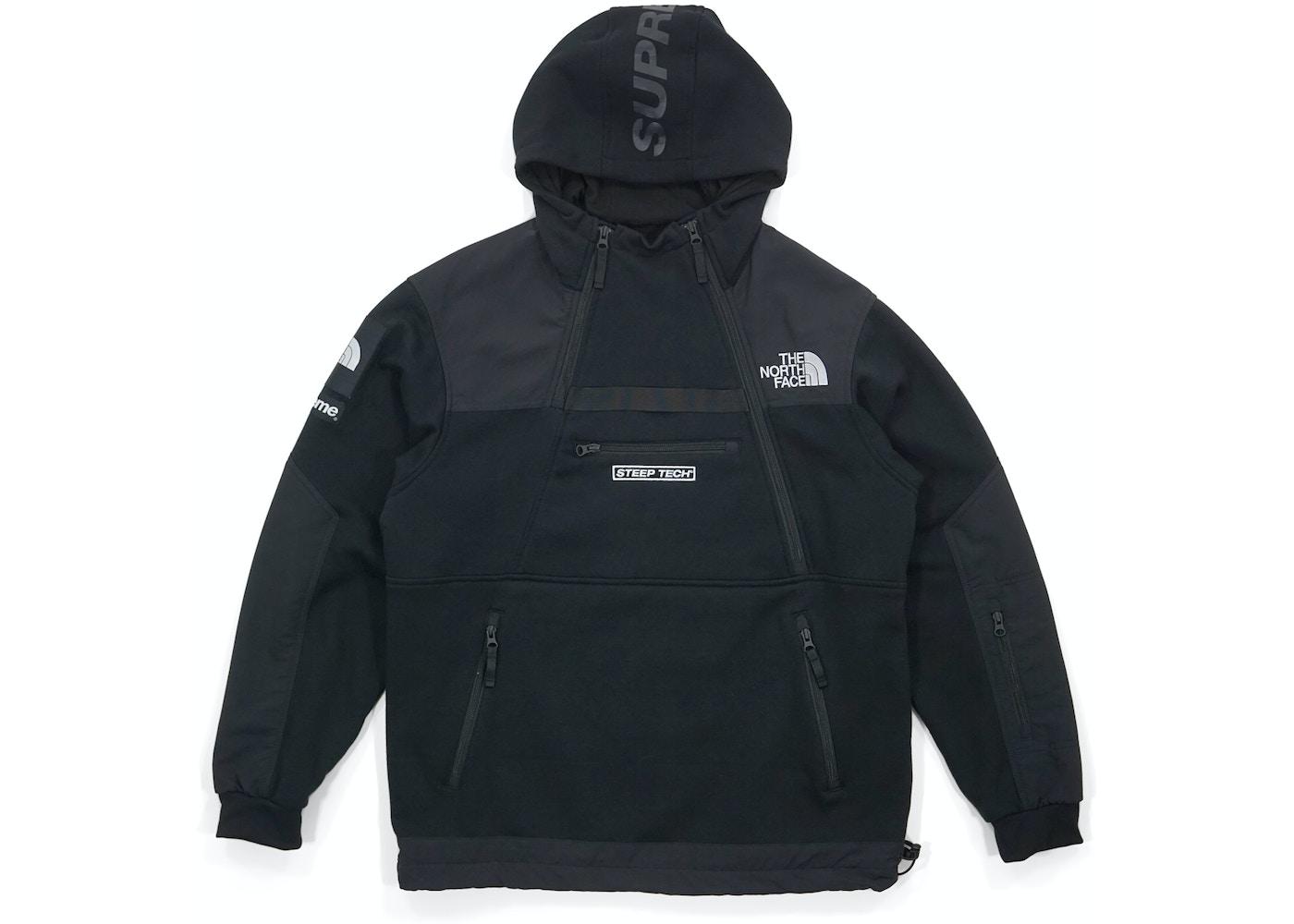 b724d50dd Supreme The North Face Steep Tech Hooded Sweatshirt Black