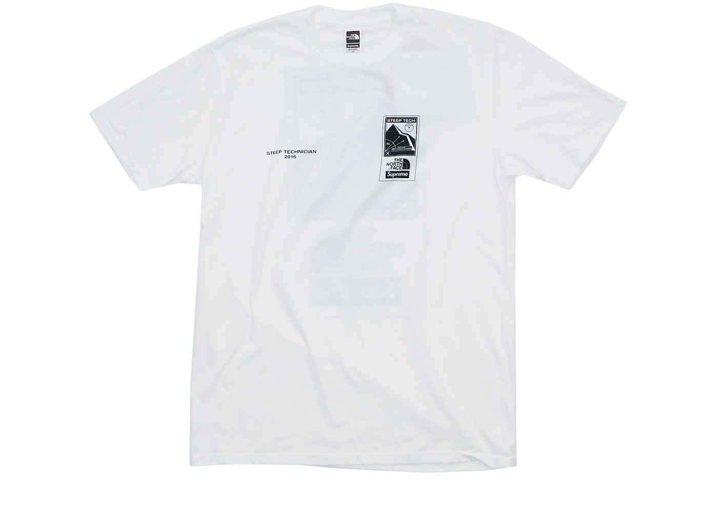 Supreme The North Face Steep Tech Tee White