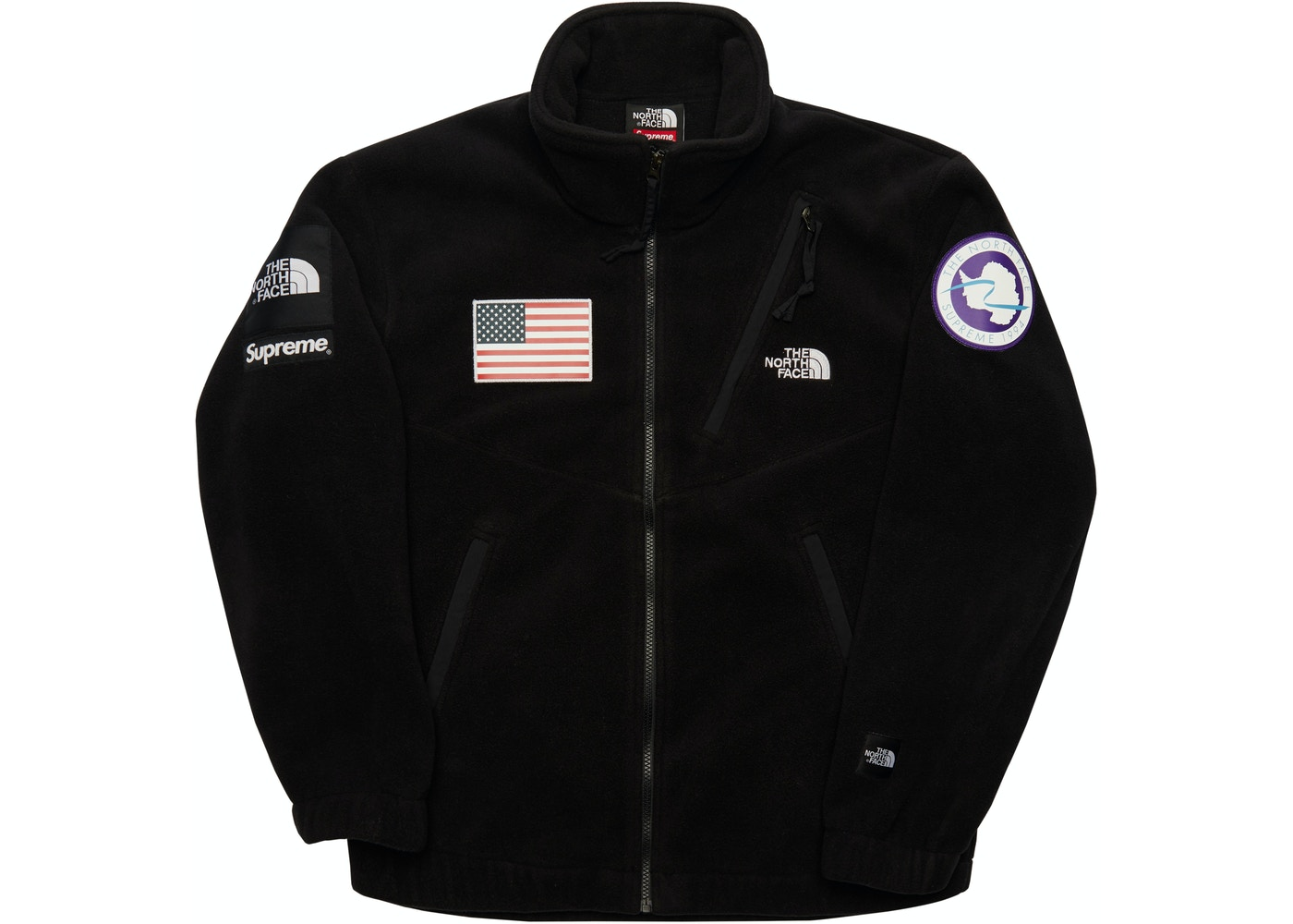 Sell. or Ask. Size L. View All Bids. Supreme The North Face Trans  Antarctica Expedition Fleece Jacket Black d3685b99e