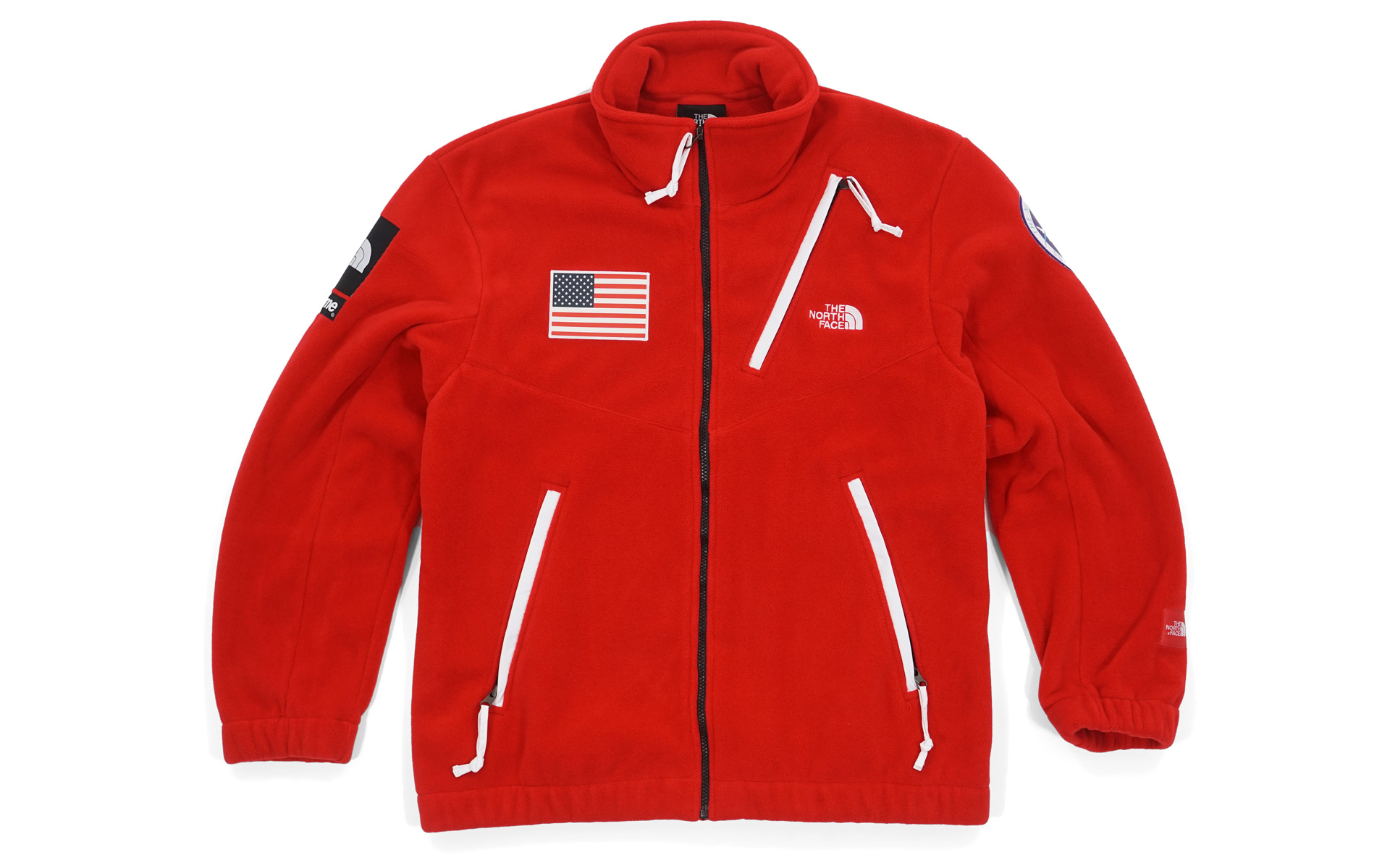 ... germany supreme the north face trans antarctica expedition fleece jacket  red e80e9 b9dec ... 153839408