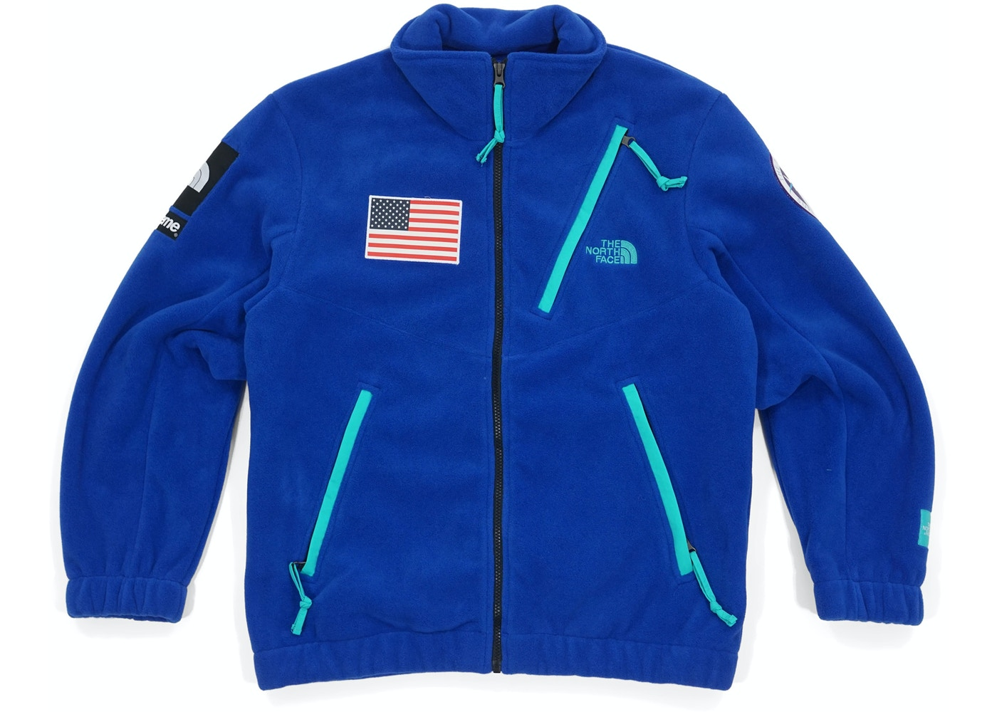 533f5ce02 Supreme The North Face Trans Antarctica Expedition Fleece Jacket Royal
