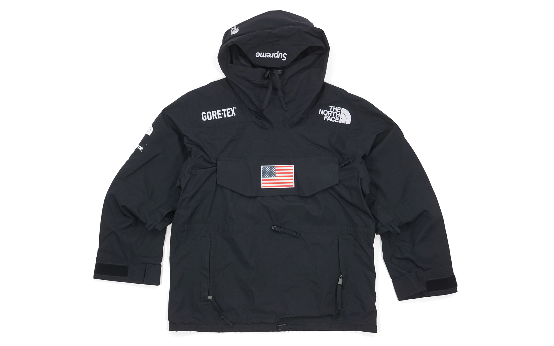 f8edbc0a8f ... wholesale supreme the north face trans antarctica expedition pullover  jacket black 4c130 50c0d