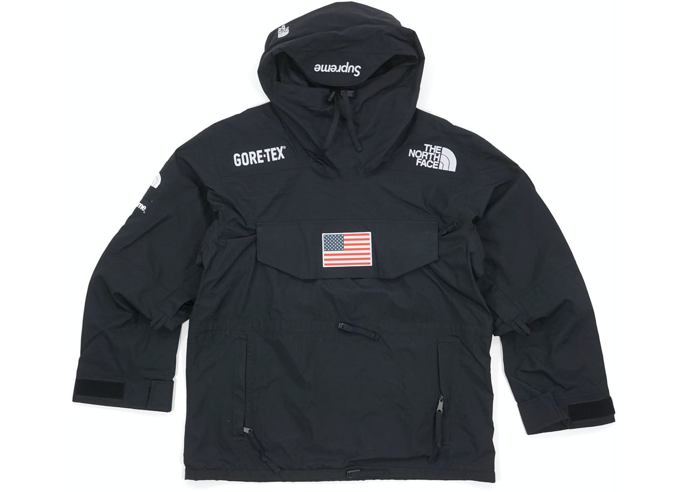 The North Face Trans Antarctica Expedition Pullover Jacket Black