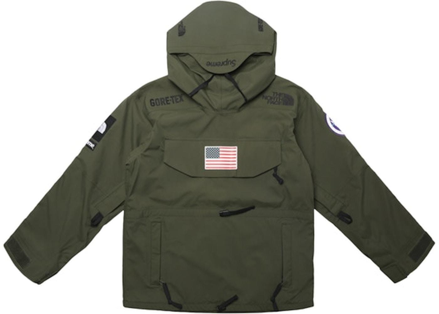 bester Verkauf populärer Stil Kostenloser Versand Supreme The North Face Trans Antarctica Expedition Pullover Jacket Olive