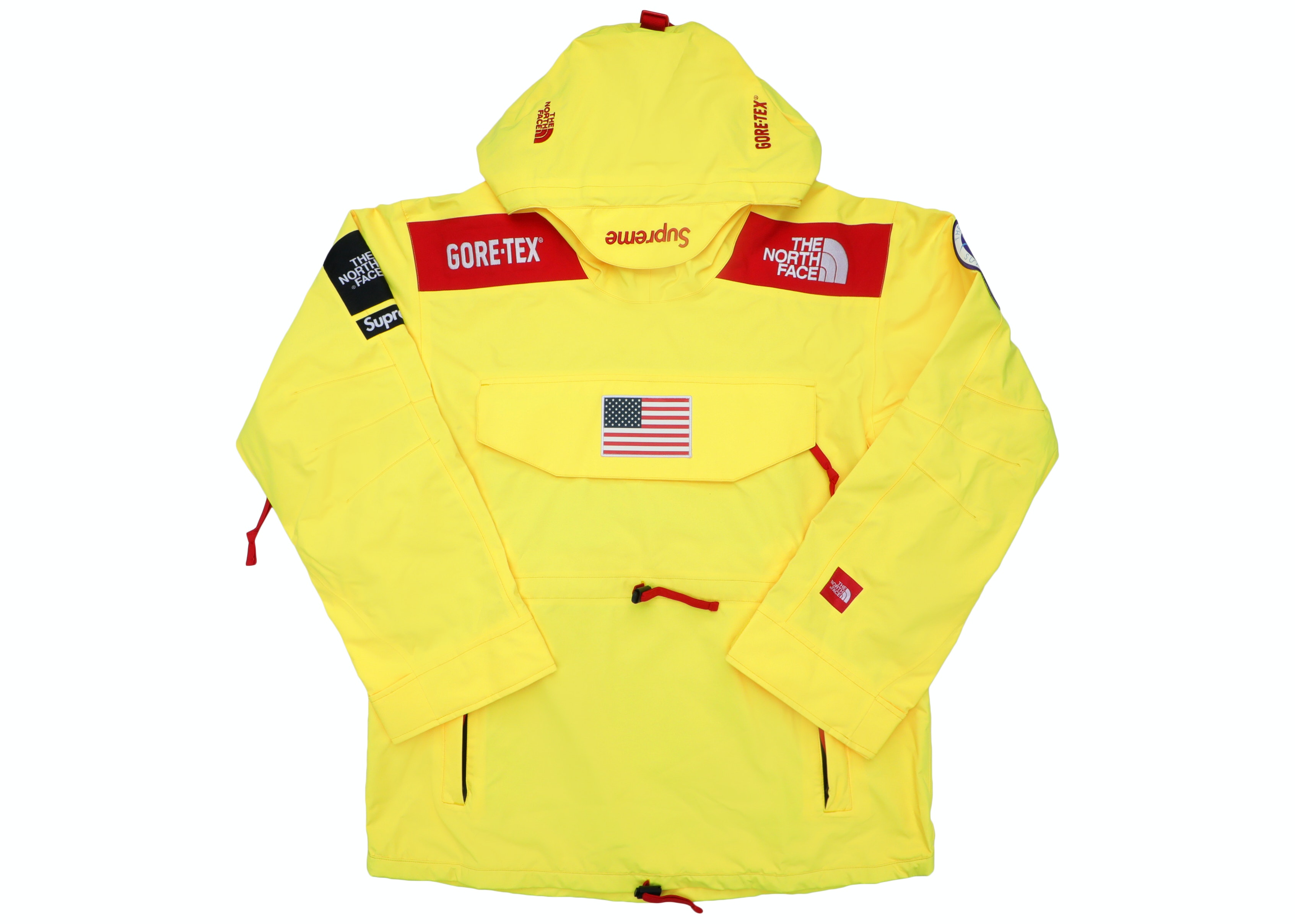 The North Face Trans Antarctica Expedition Pullover Jacket Yellow