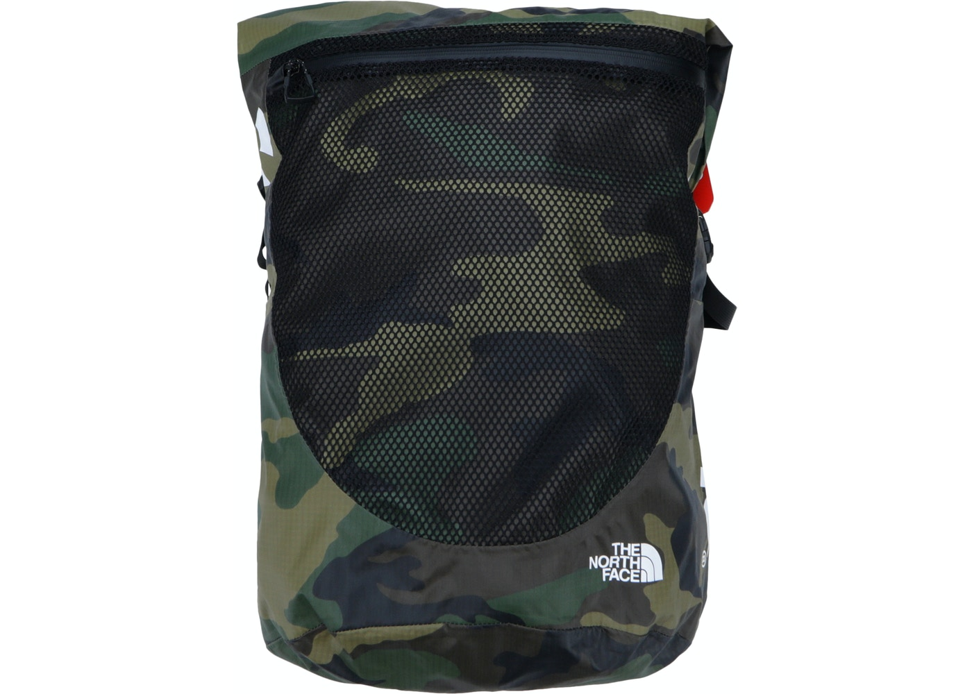 07defe689 Supreme The North Face Waterproof Backpack Woodland Camo