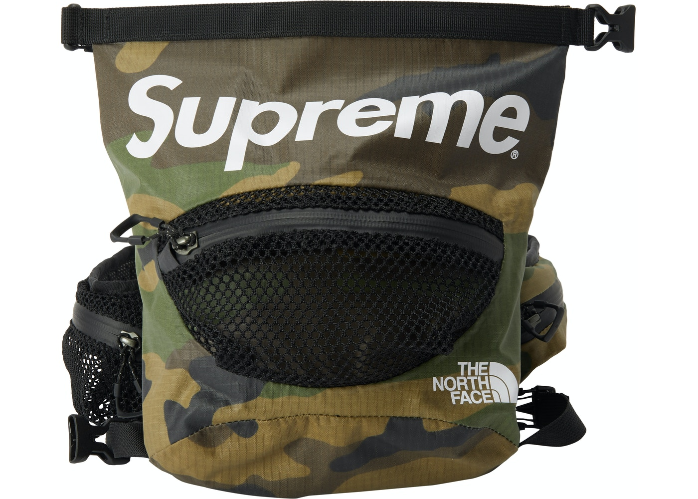Or Ask View All Bids Supreme The North Face Waterproof Waist Bag Woodland Camo