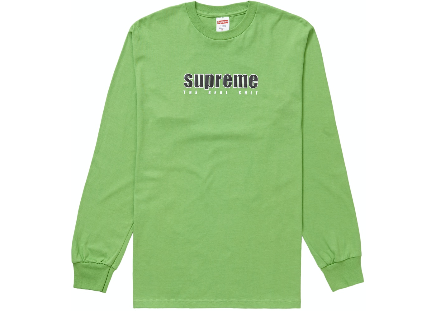 Supreme The Real L S Tee Green