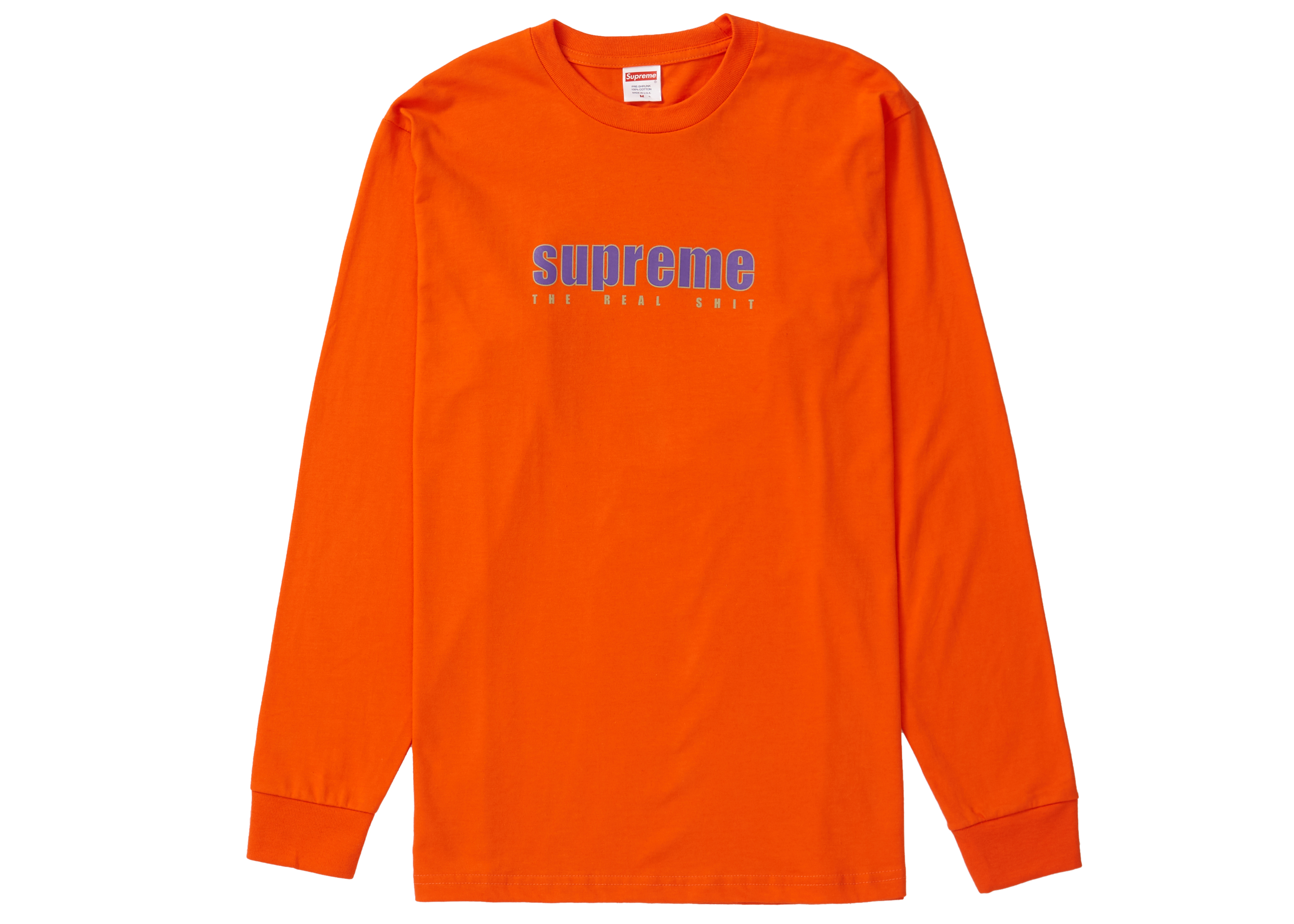 supreme t shirt orange