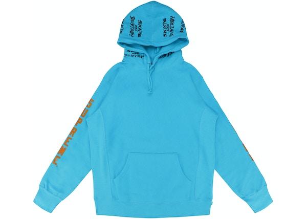 67bbd04be990 Supreme Thrasher Boyfriend Hooded Sweatshirt Light Aqua