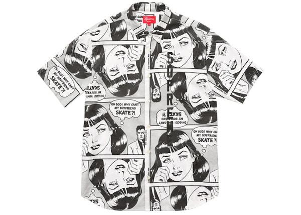 c44792b6d87acd Supreme Thrasher Boyfriend SS Shirt White - SS17