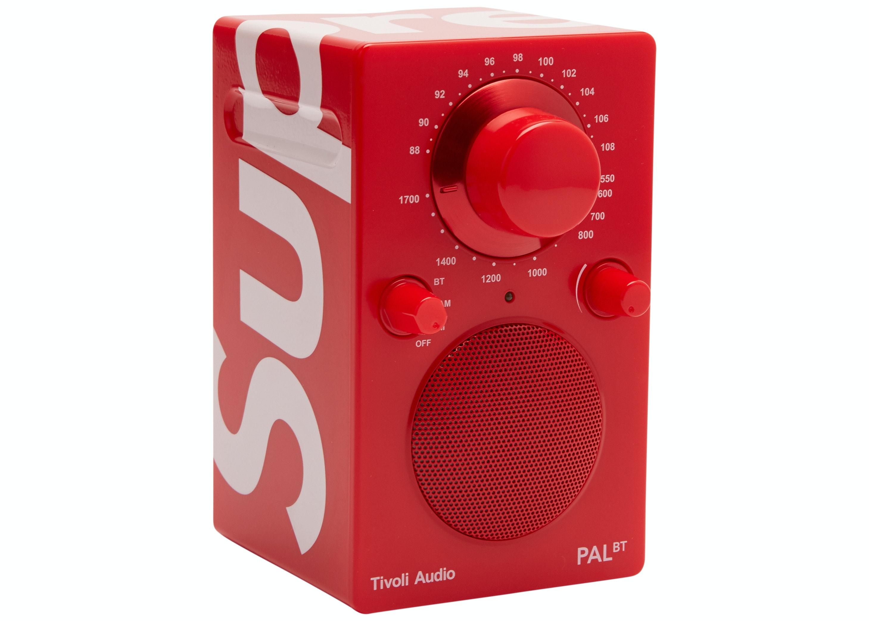 Supreme Tivoli Pal BT Speaker Red
