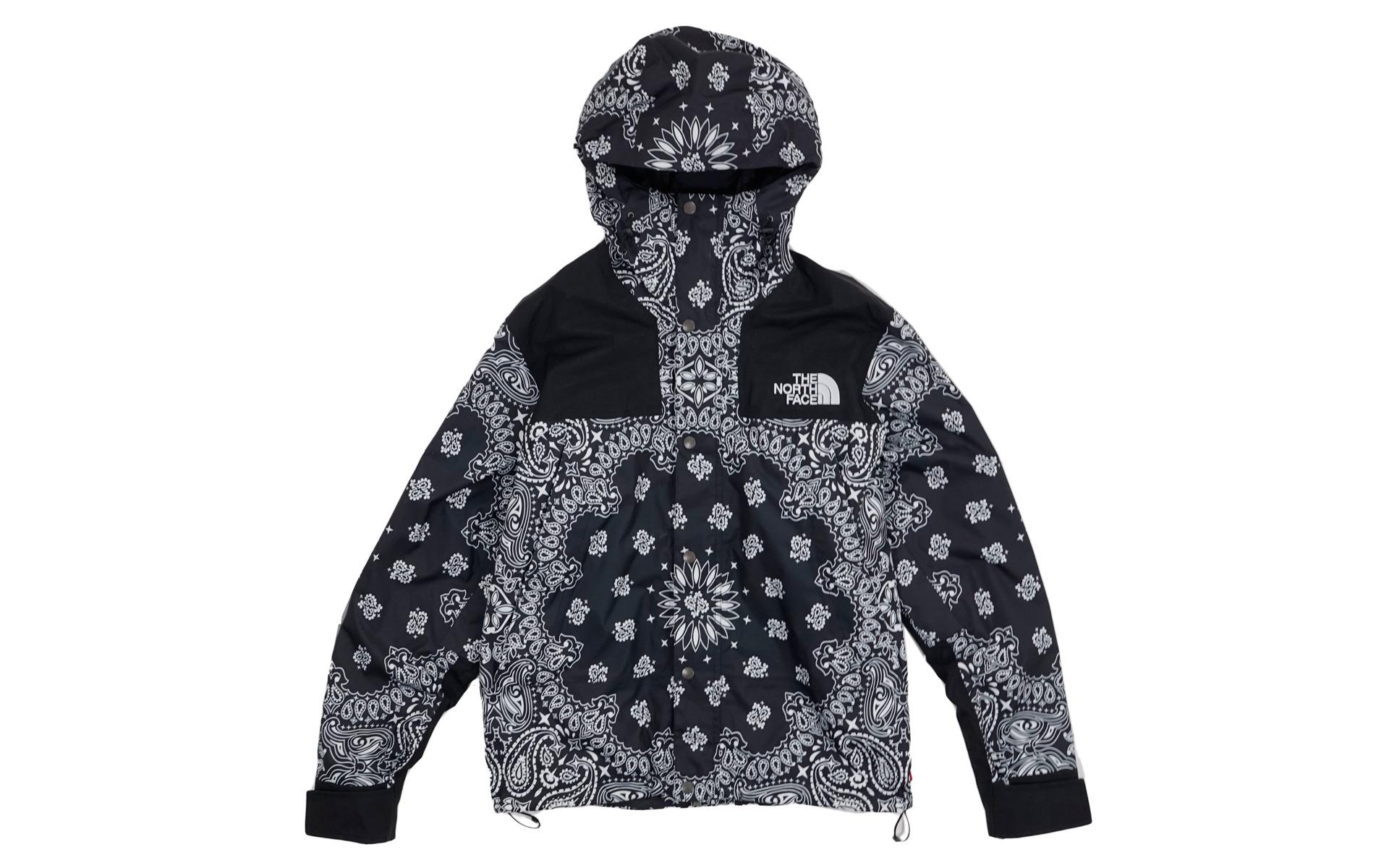 ... canada supreme the north face bandana mountain jacket black fw14 4cfb1  784e0 switzerland ua supreme x ... 14d83e2c5