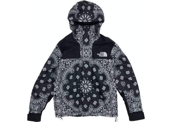 new concept 126be 24315 Supreme The North Face Bandana Mountain Jacket Black - FW14