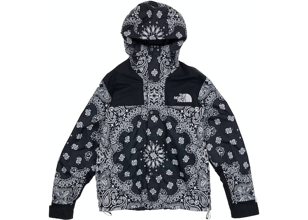 Supreme The North Face Bandana Mountain Jacket Black - FW14 a9e5815f9