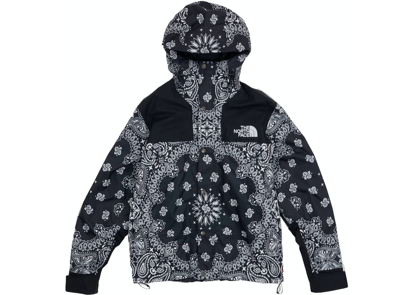 Supreme The North Face Bandana Mountain Jacket Black - FW14 ad7299954