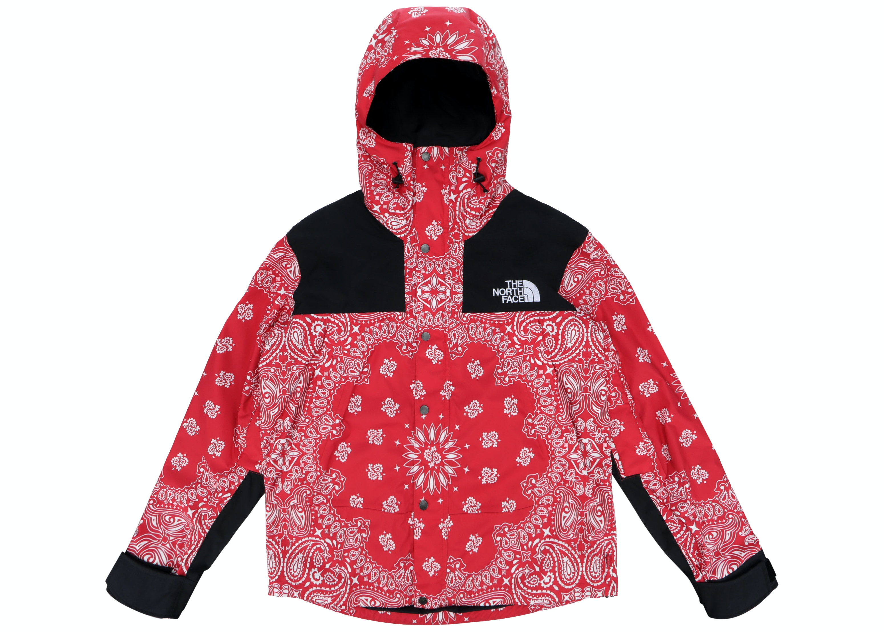 Supreme The North Face Bandana Mountain Jacket Red Fw14