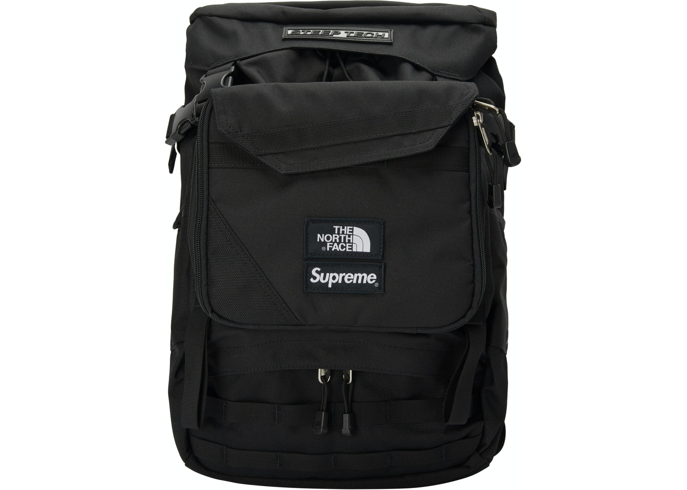 56d72239a Supreme The North Face Steep Tech Backpack Black