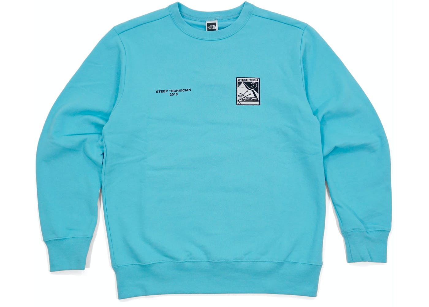 The North Face Steep Tech Crewneck Lht Blue