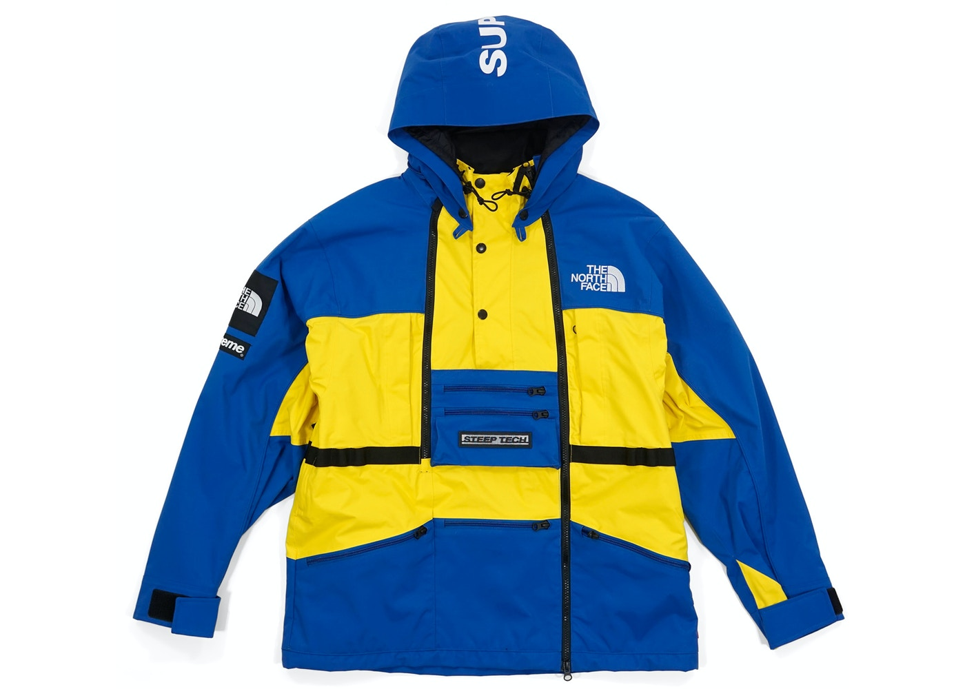 Supreme The North Face Steep Tech Hooded Jacket Royal