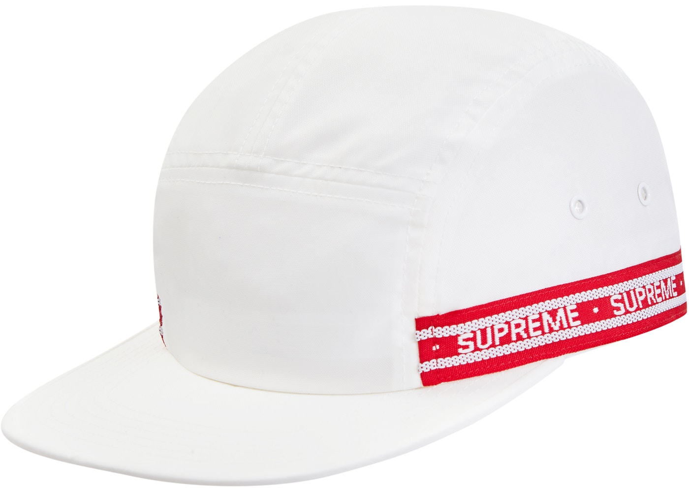 Sell. or Ask. View All Bids. Supreme Tonal Tape Camp Cap White be594952967c
