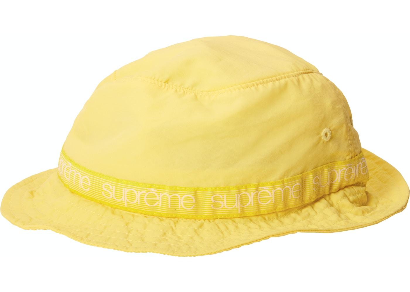 Supreme Tonal Taping Crusher Light Yellow - SS18 4b48202bcef
