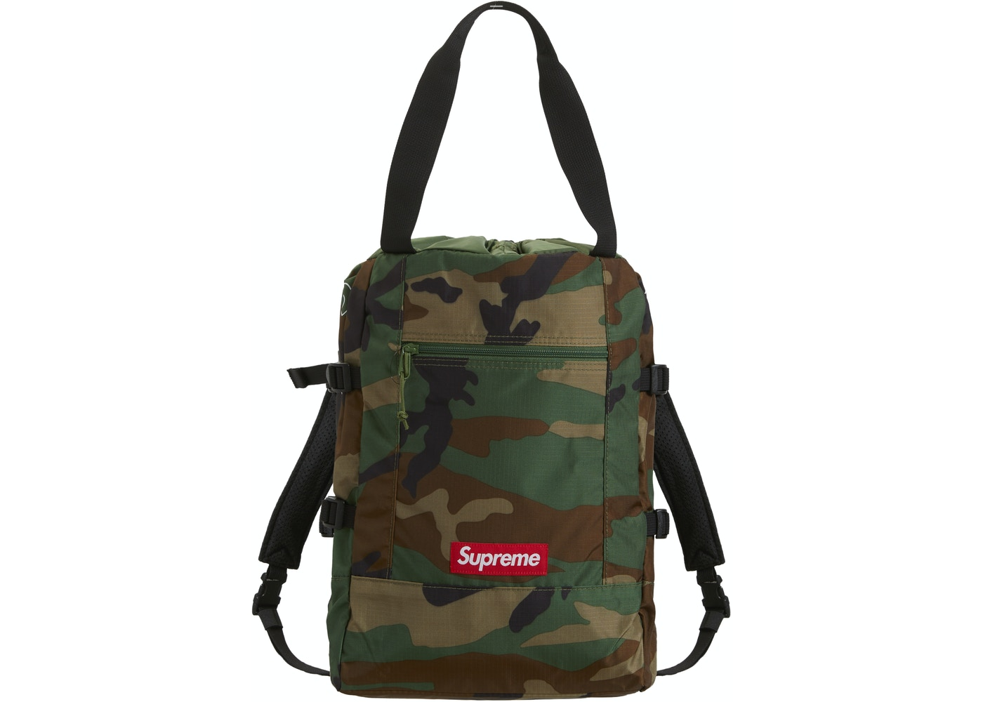 Supreme Tote Backpack Woodland Camo
