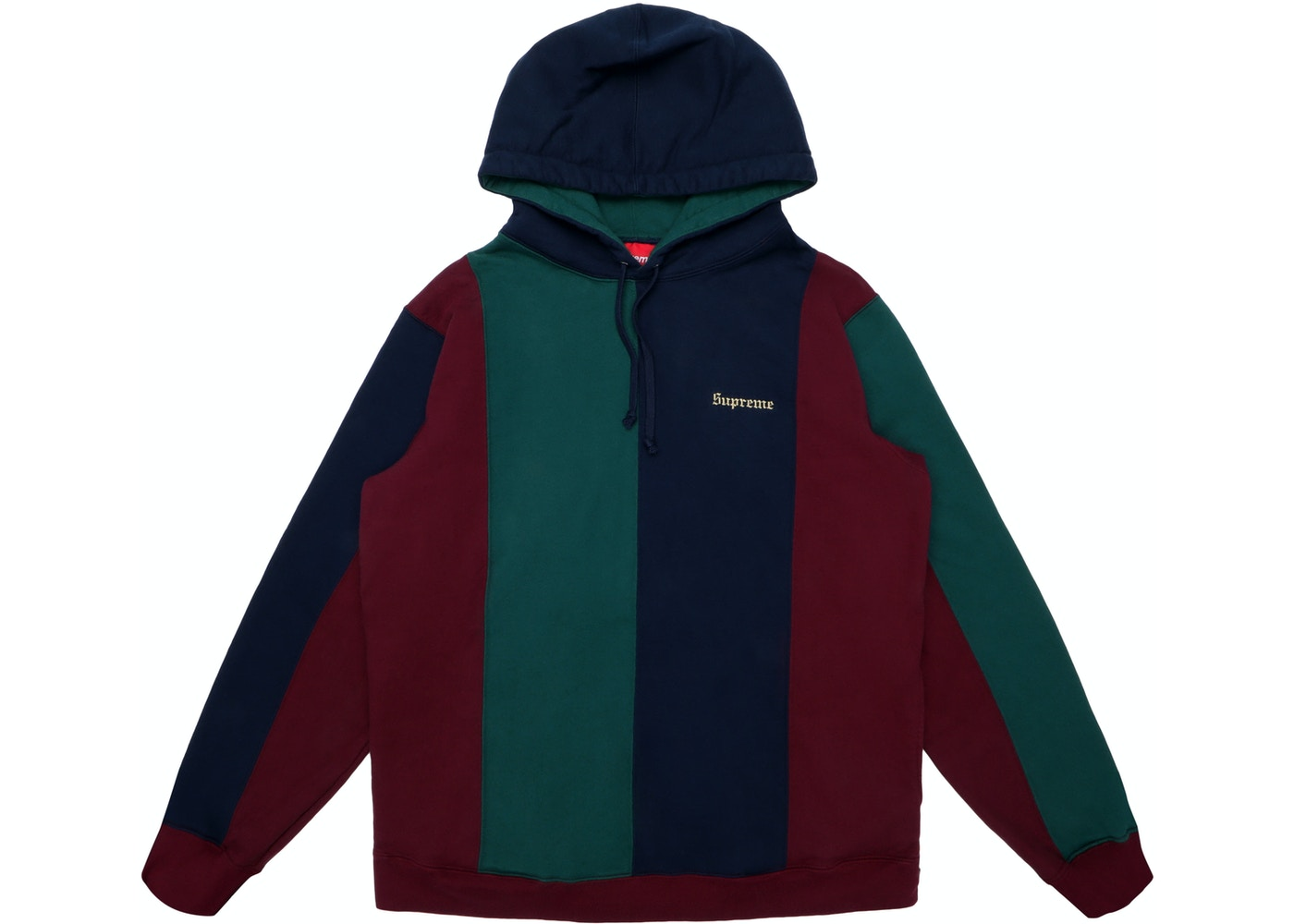 c4514c5de35 Sell. or Ask. Size M. View All Bids. Supreme Tricolor Hooded Sweatshirt  Burgundy