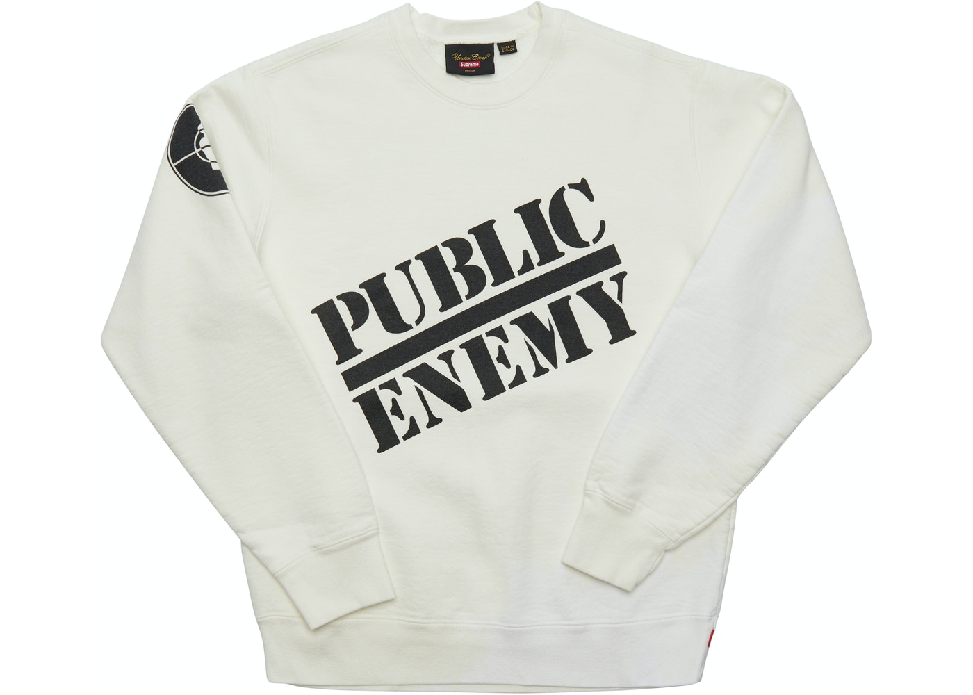 3b6df74d6786 Sell. or Ask. Size S. View All Bids. Supreme UNDERCOVER/Public Enemy  Crewneck Sweatshirt White