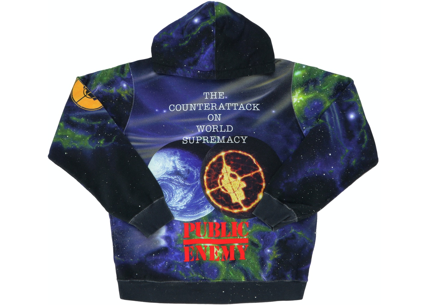 Supreme Undercover Public Enemy Hooded Sweatshirt Multi