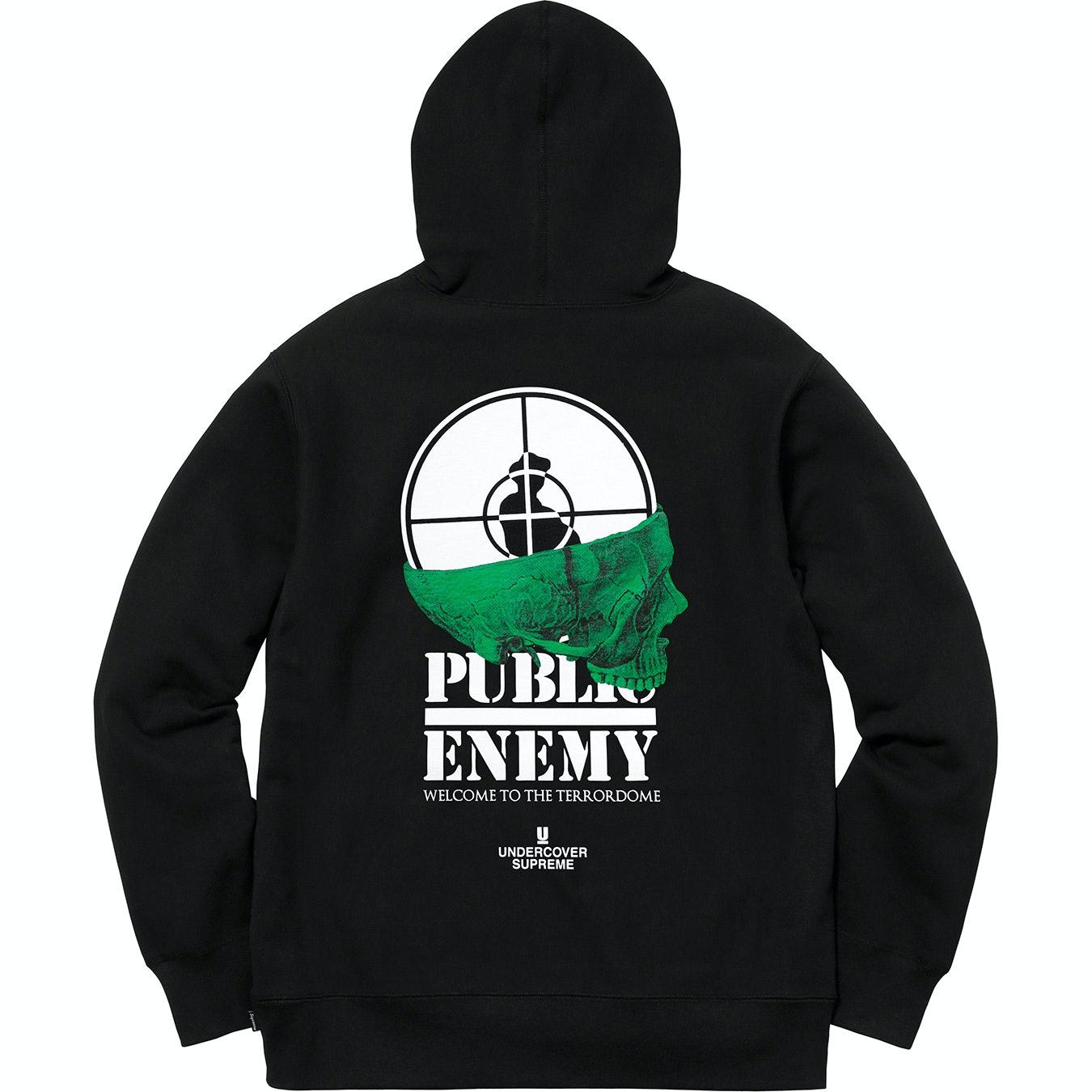 Public enemy hoodie