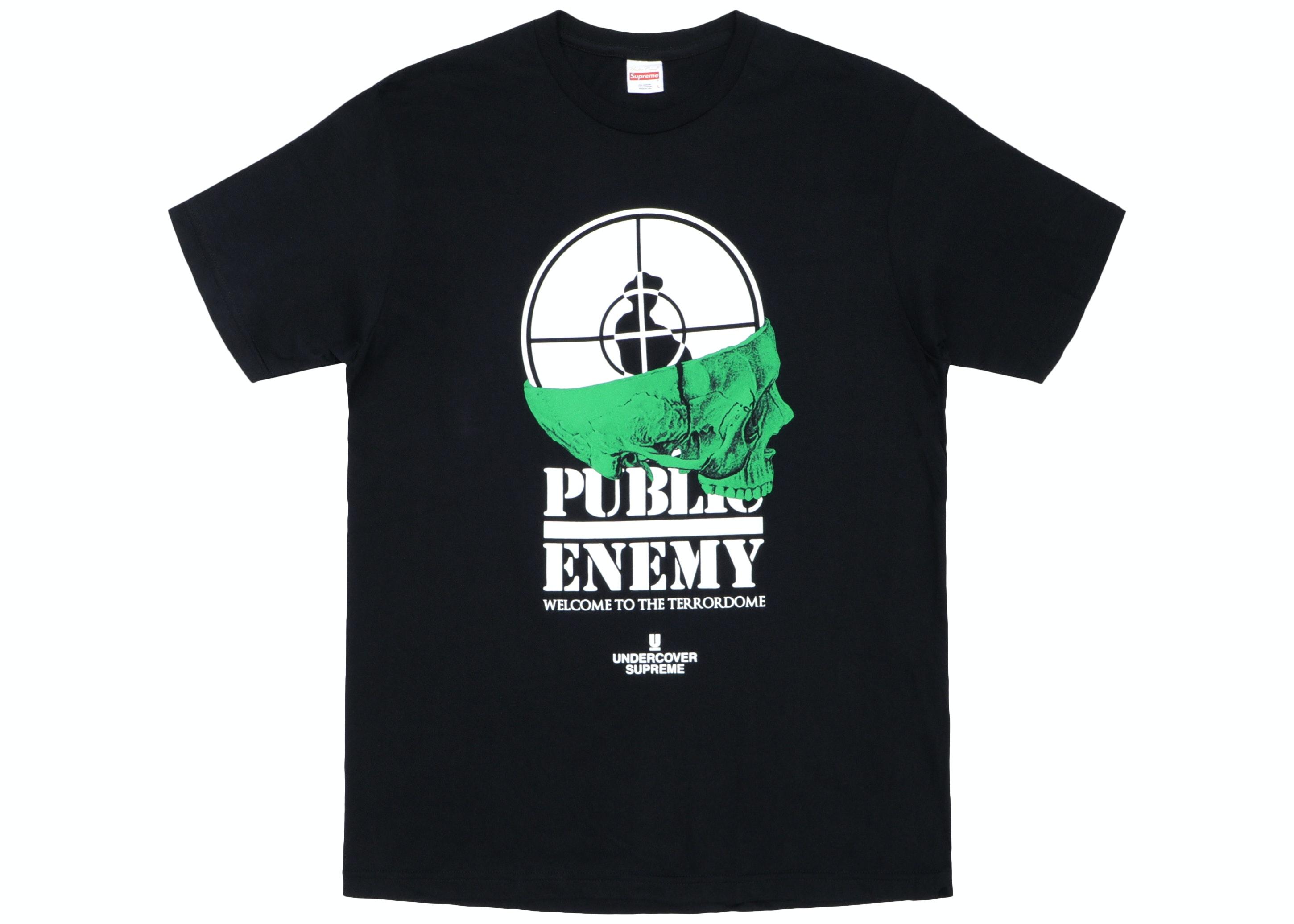 Supreme UNDERCOVER/Public Enemy Terrordome Tee Black