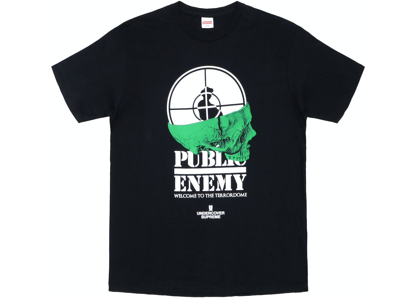 79fc460e Sell. or Ask. Size: XL. View All Bids. Supreme UNDERCOVER/Public Enemy  Terrordome Tee Black