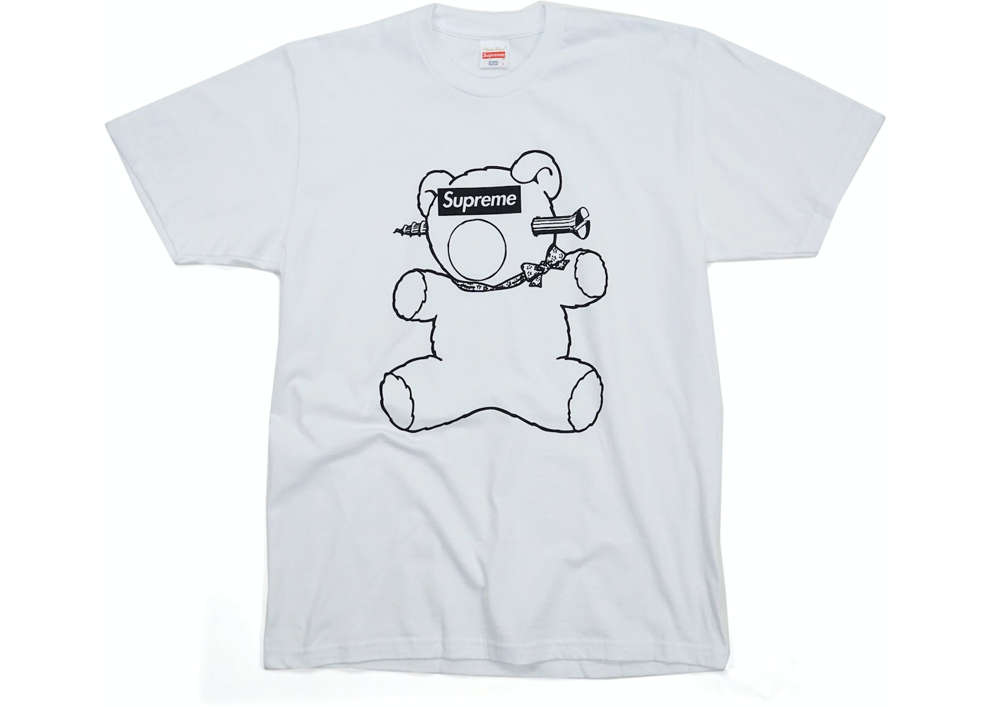 size 40 f1029 5827f Supreme Undercover Bear Tee White - SS15