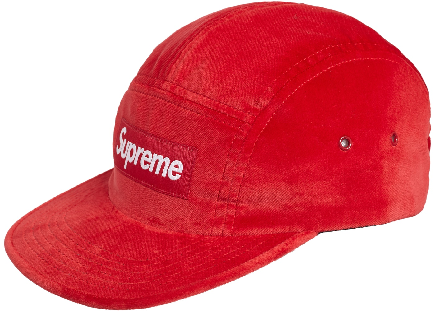 aa6c0883117 Sell. or Ask. View All Bids. Supreme Velvet Camp Cap Red