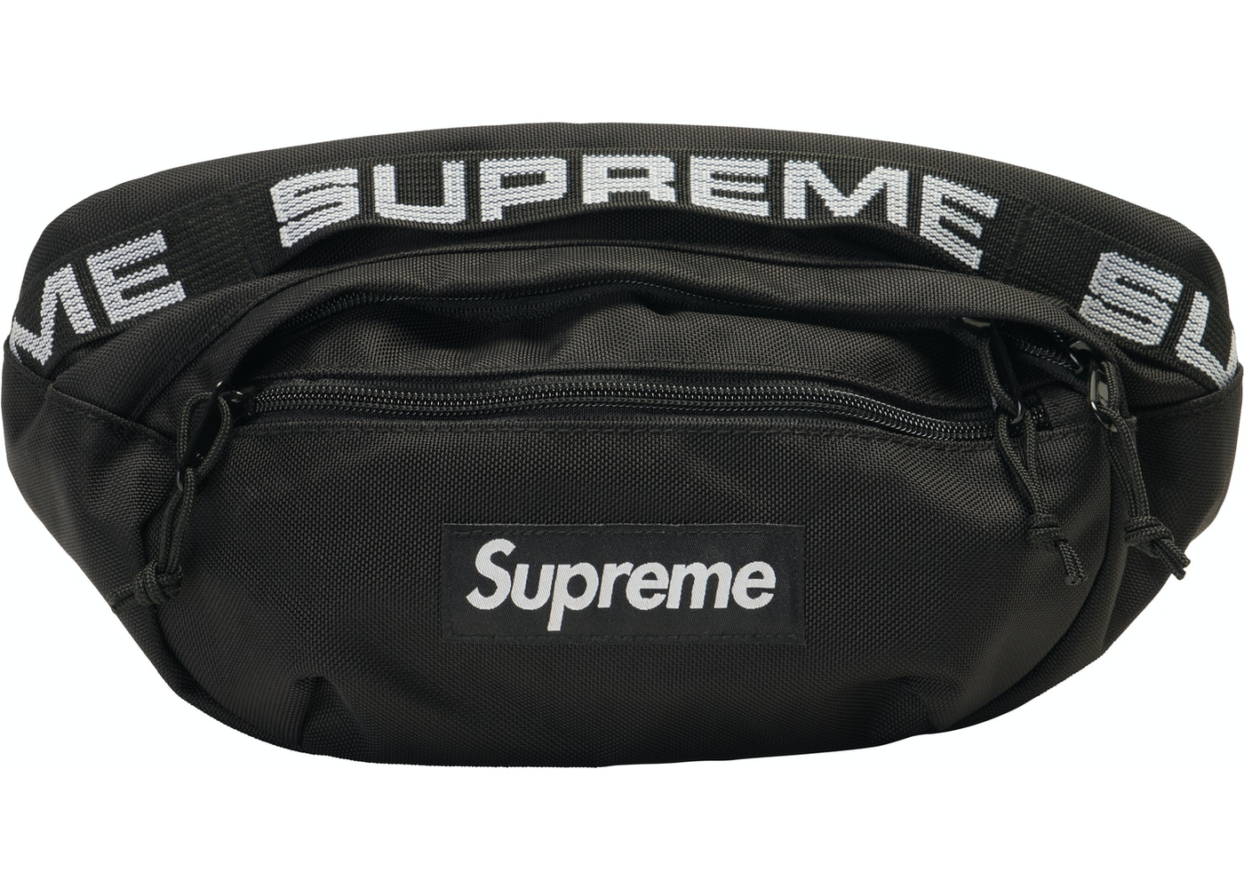 773fa73f2a Supreme Waist Bag (SS18) Black - SS18
