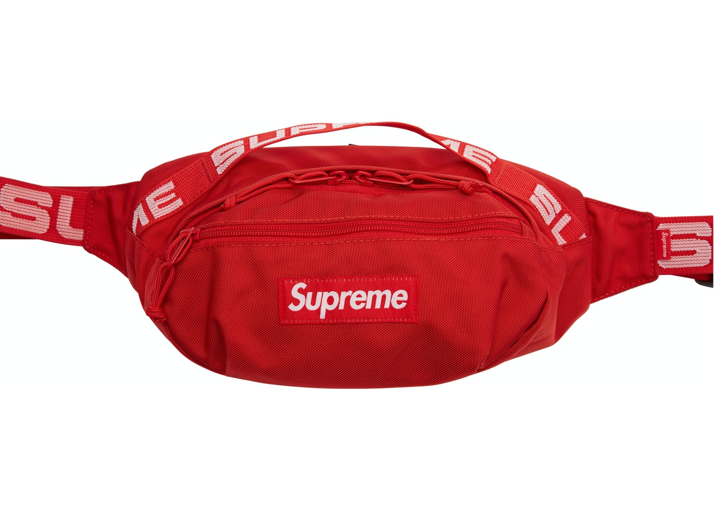 Or Ask View All Bids Supreme Waist Bag Ss18 Red