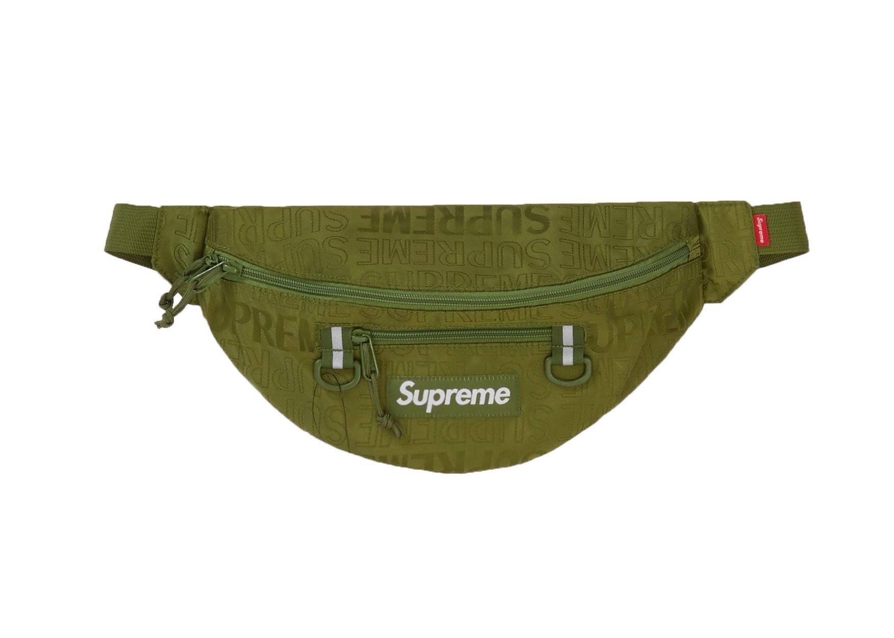 Supreme Waist Bag (SS19) Olive