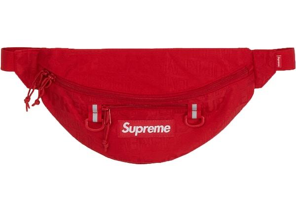 Supreme Waist Bag (SS19) Red - SS19 9261af3bea14b