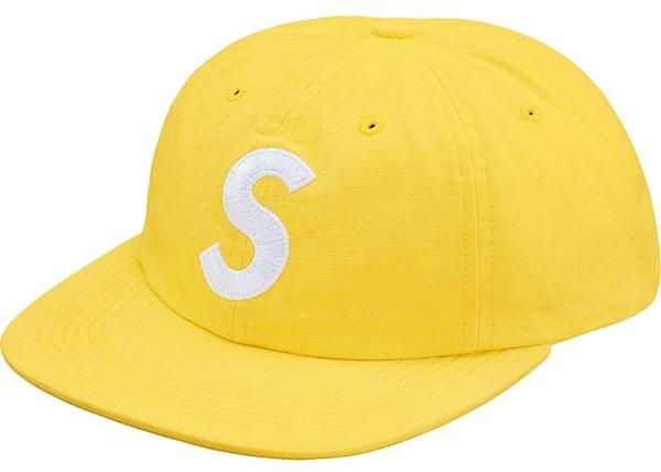 22257ea33a3 Supreme Washed Chambray S Logo 6-Panel Yellow