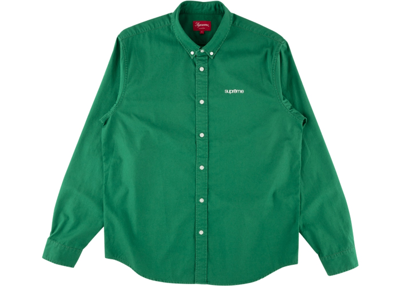 1403cd684814 Sell. or Ask. Size: XL. View All Bids. Supreme Washed Twill Shirt Green