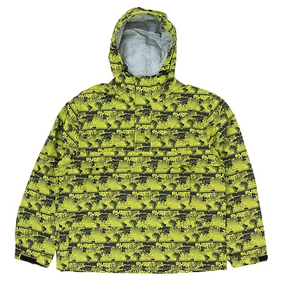 Supreme World Famous Taped Seam Hooded Pullover Green
