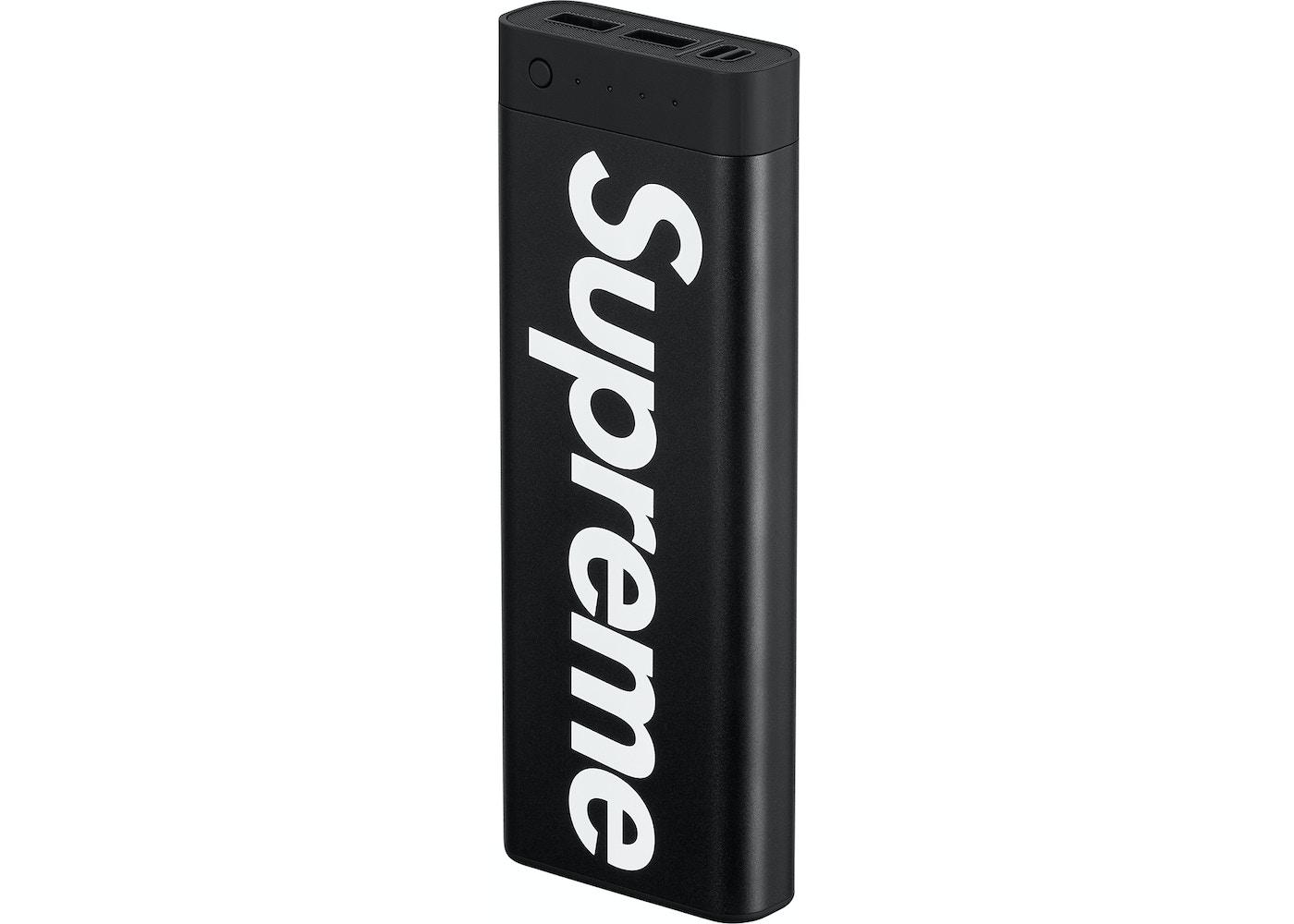 buy popular ef20c d3ab8 Supreme mophie encore 20K (SS18) Black - SS18